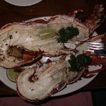 Foxy's Lobster Dinner - HUGE