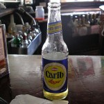 Carib Lager - ubiquitous local beer