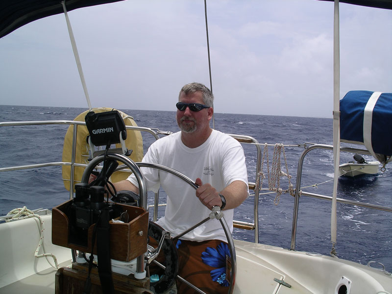 Sailing in the Abacos, Bahamas
